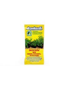 """Экогель """"Для семян, луковиц, рассады"""" Агрикола, 20 мл. Агроэкологический активатор прорастания, корнеобразования, роста растений и болезнеустойчиваости"""